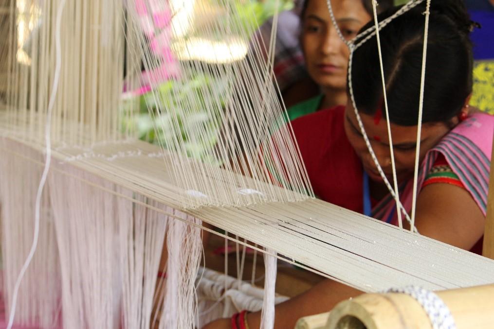 Skill Development Programme on Weaving