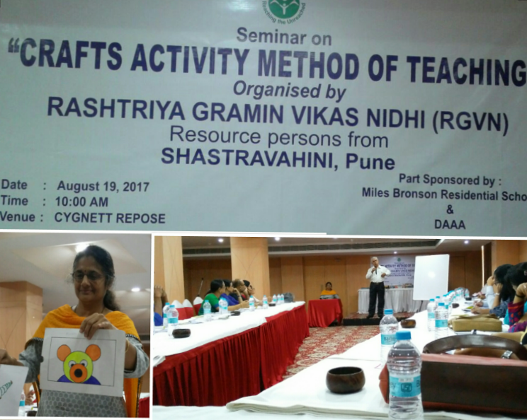 "Seminar on ""Crafts Activity Method of Teaching"""