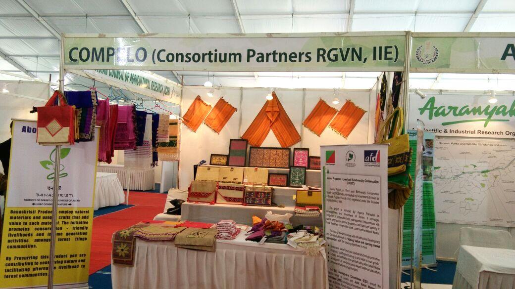 Exhibition held at Panjabari and Chandmari, Guwahati