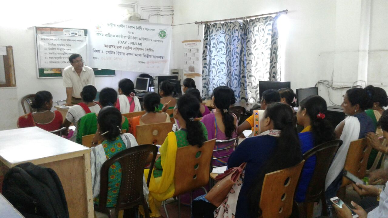 Training on Urban Self-Help Groups (SHGs)
