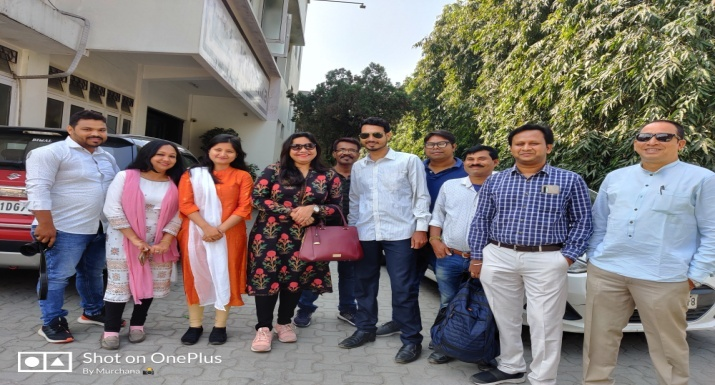 Exposure Visit of ITC-MSK Team to Chirang
